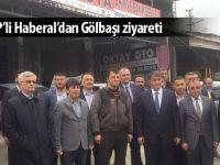 MHP'li Erkan Haberal Gölbaşı'nı ziyaret etti