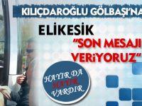 CHP Lideri Kılıçdaroğlu Gölbaşı'na geldi