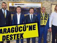 Duruay'dan Ankaragücü'ne destek