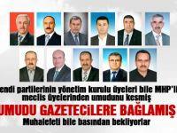 MHP'li meclis üyelerinden umudu kesmişler