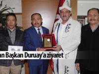 Kırgız Türklerinden ziyaret