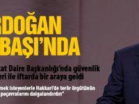Erdoğan Gölbaşı Özel Harekat'ta iftara katıldı
