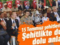 Bakan Soylu'nun katılımıyla 15 Temmuz şehitleri anıldı