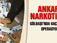 Ankara narkotik ekiplerinden kaçak sigara operasyonu