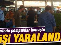 Karşıyaka pazar yerinde pompalı dehşeti: 7 yaralı