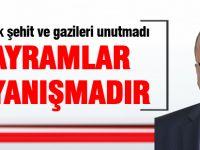 CHP İlçe Başkanı Elikesik'ten bayram mesajı