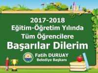 Başkan Duruay'ın  yeni eğitim öğretim yılı mesajı
