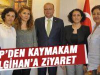 CHP İlçe Örgütünden Kaymakam'a hoşgeldin ziyareti