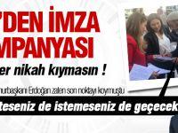 CHP Gölbaşı Örgütünden imza kampanyası