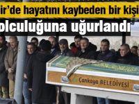 Eskişehir'de yaşanan kazada ölen bir kişi Gölbaşı'nda toprağa verildi