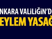 Ankara Valiliği'nden Afrin yasağı