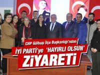 CHP Gölbaşı'ndan İYİ Parti'ye 'Hayırlı Olsun' ziyareti