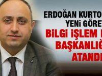 Erdoğan Kurtoğlu'nun görev yeri değişti