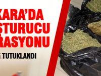 Ankara'da uyuşturucu operasyonunda 35 kişi tutuklandı