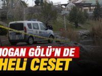 Mogan Gölü'nde erkek cesedi bulundu