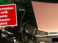 Gölbaşı'nda kaza:1 ölü
