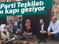 AK Parti teşkilatı seçimlere sıkı çalışıyor