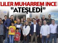 CHP Gölbaşı İlçe Örgütü Muharrem İnce için 'Ateşledi'