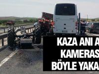 Güney Koreli kafileyi taşıyan otobüs ile traktör çarpıştı: 2 Ölü