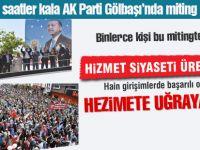 AK Parti'den Gölbaşı'nda miting