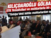 """CHP Genel Başkanı Kemal Kılıçdaroğlu: """"Türkiye'deki bütün muhtarlardan oy istiyoruz"""""""