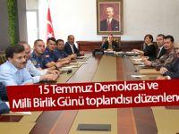 GÖLBAŞI'NDA ''15 TEMMUZ DEMOKRASİ VE MİLLİ BİRLİK GÜNÜ'' TOPLANTISI