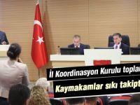 İl Koordinasyon Kurulu 2018 Yılı 3. Dönem Toplantısı Yapıldı