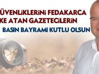 CHP İlçe Başkanı Bülent Elikesik'ten 'Basın Bayramı' mesajı