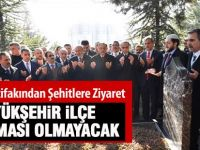 Cumhur İttifakından Başbuğ Türkeş ve şehitlere ziyaret