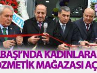 Ercan Bilgin'in işletmeciliğinde Kozmetik mağazası açıldı