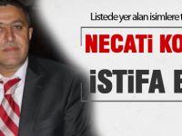 Necati Koçak istifa etti