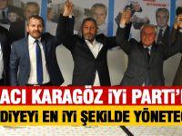 """Hacı Karagöz; """"Belediyeyi en iyi şekilde yöneteceğiz"""""""