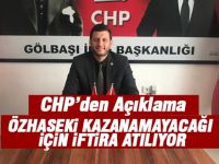 CHP İlçe Başkanı İbrahim Karaca'dan Mansur Yavaş açıklaması