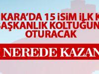 Ankara'da yeni dönem