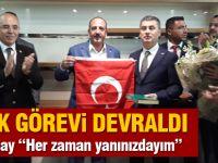 Şimşek, başkanlık görevini Duruay'dan teslim aldı