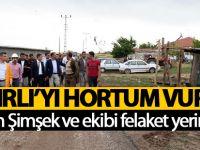 Ankara'da şiddetli yağış felakete sebep oldu