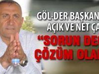 GÖL-DER Başkanı Demirci'den çağrı