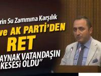 Ankara'da suya zamda AK Parti ve MHP retti