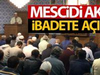 Mescidi Aksa ibadete açıldı