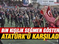 Atatürk'ün Ankara'ya gelişinin 100. yılında coşkulu kutlama