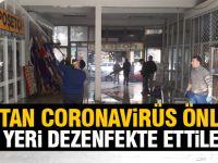 Esnaftan Coronavirüs önlemi