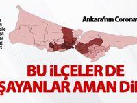 Ankara'nın risk haritası çıktı
