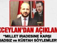 AK Parti İlçe Başkanı Akceylan açıklama