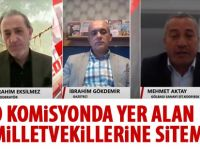 Mehmet Aktay canlı yayın da açıklamalarda bulundu