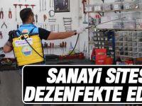 Gölbaşı Sanayi Sitesi Dezenfekte edildi