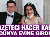 Genç Gazeteci Hacer Kara dünya evine girdi