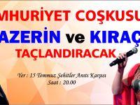 Azerin ve Kıraç Gölbaşı'nda 29 Ekim Coşkusu Yaşatacak