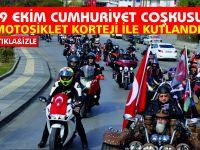 29 Ekim Cumhuriyet Coşkusu motosikletlerle kutlandı