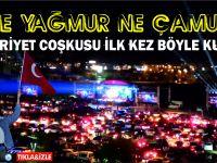 Türkiye'de ilk kez Cumhuriyet coşkusu böyle kutlandı