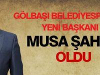 Gölbaşı Belediyespor'un yeni başkanı belli oldu Kaynak: Gölbaşı Belediyespor'un yeni başkanı belli oldu